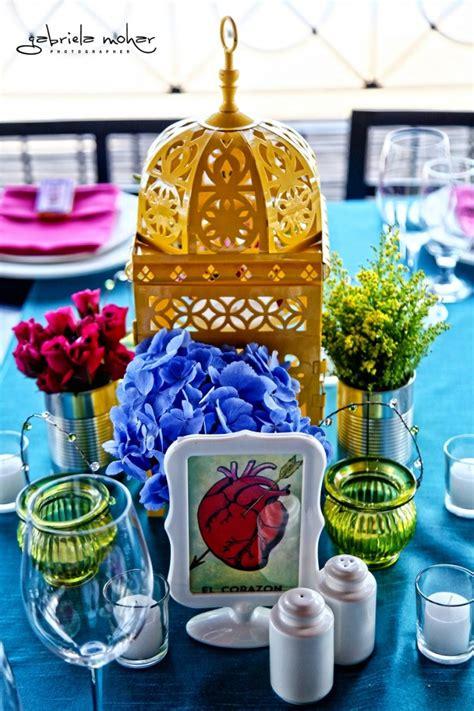mexican themed centerpieces beautiful mexican themed wedding at casa dorada los cabos