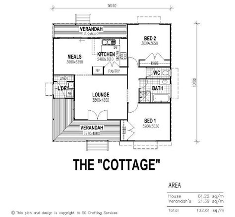 cottage floor plan the cottage floor plan like the separated toilet but