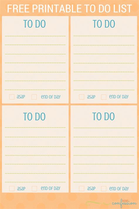 to do list printable checklist free free printable to do list