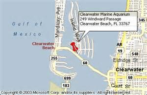 clearwater marine aquarium map