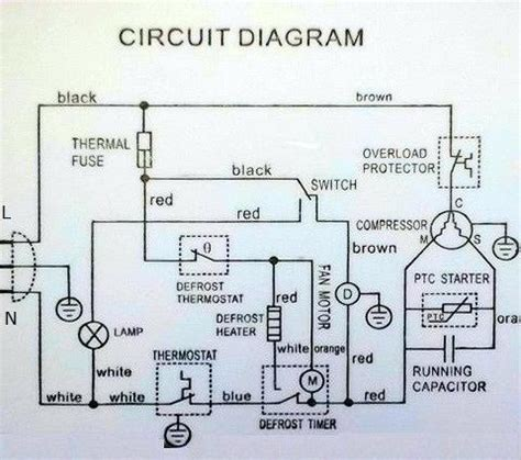 defrost termination switch wiring diagram electrical