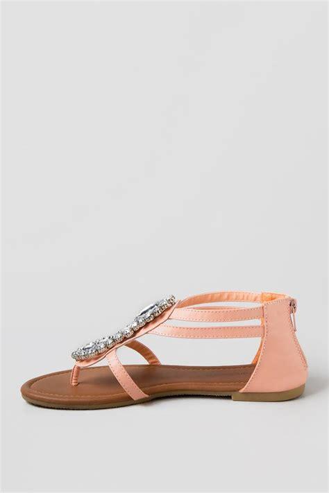 embellished flat sandals daryia embellished flat sandal s