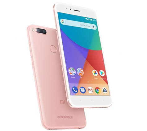 Xiaomi Mi A1 Mi A1 xiaomi mi a1 gold variant launched in india