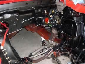 Brake Line Diagram 1967 Mustang Brake Line At Firewall Vintage Mustang Forums