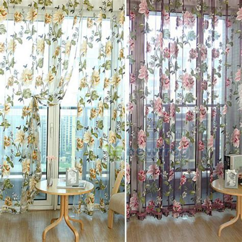 luxury home textiles curtains home textile flower embroidered chinese luxury 3d window