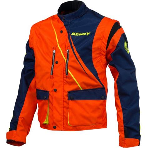 kenny motocross gear motocross jackets kenny track enduro blue neon orange