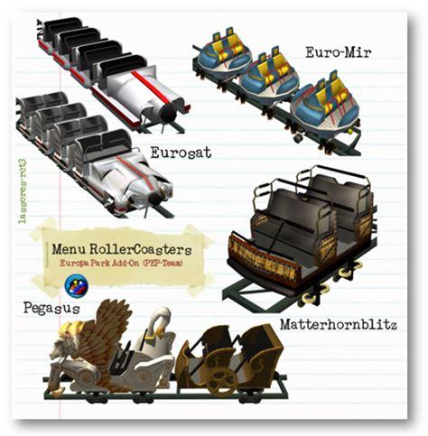E Visor Space Coaster Ep uma inspira 231 227 o uma cria 231 227 o e 30 novidades para rct3