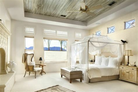 vorhänge naturmaterialien schlafzimmer ideen mit raffiniertem touch und hohem stil
