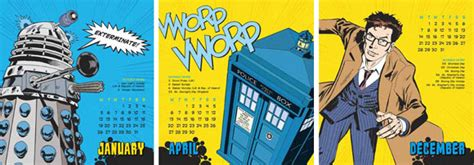 Doctor Who Desk Calendar by Doctor Who Desk Easel 2015 Calendar Merchandise Guide
