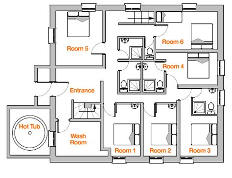 House Plans With Balcony Chalet Floor Plan Ice And Orange Chalets Tissi 232 Res