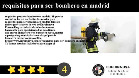 requisitos para emplacar en tlaxcala requisitos para ser bombero en madrid youtube