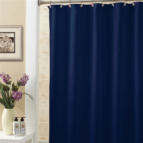 dark colored curtains dark blue terylene fabric waterproof bathroom shower