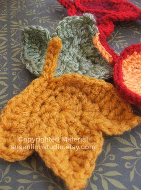 pattern leaf crochet 15 best images about crochet leaves on pinterest free