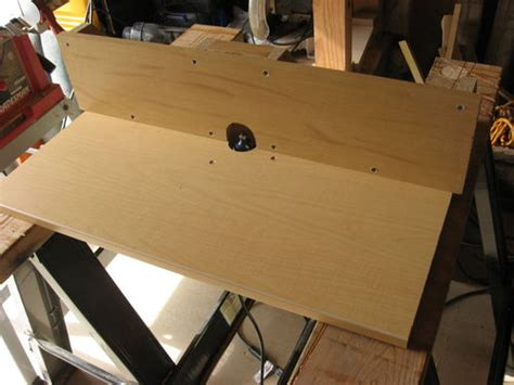 Cheap Router Table by Upgrading Shop 4 And Cheap Router Table By