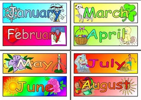 imagenes en ingles de los meses del año los meses en ingl 201 s para ni 209 os consejos para padres y