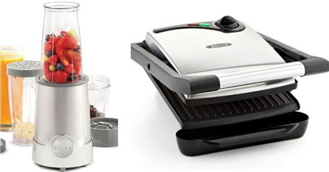 bella kitchen appliances macy s bella small kitchen appliances only 7 99 after rebate panini grill rocket blender