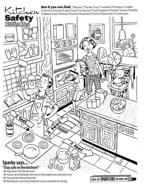 printable science hidden pictures 26 best life skills kitchen food images on pinterest