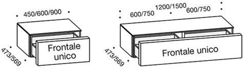 misure comodino comodino moderno 1 cassetto alveo arredo design