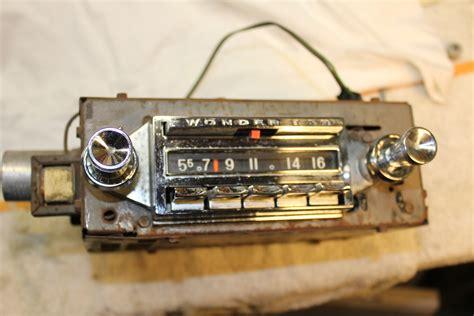 corvette radio 1961 1962 corvette wonderbar radio corvetteforum