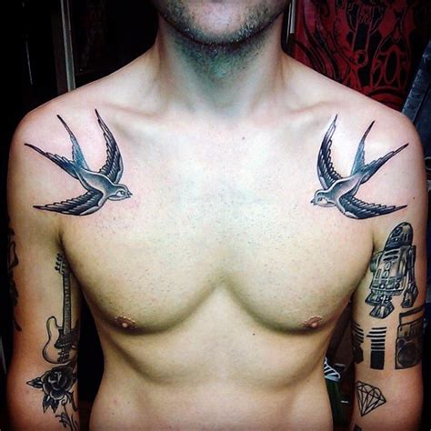 swallow tattoos for men sparrow tattoos for sparrow