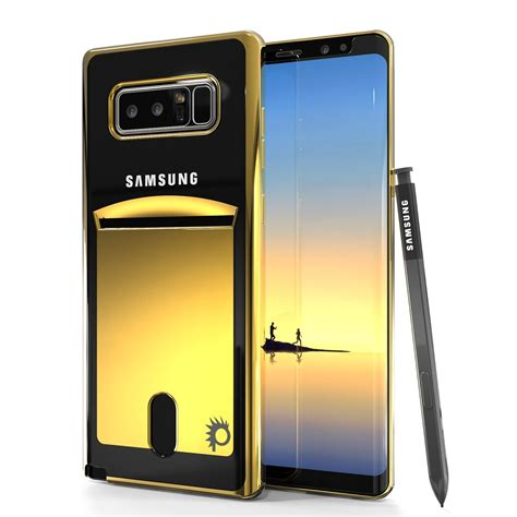 Shield Cover Design For Samsung Galaxy Note 4 White galaxy note 8 punkcase 174 lucid gold series card slot shield s