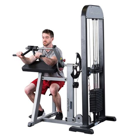 Alat Fitness Home Arm Curl solid pro select biceps triceps machine fitnessworld
