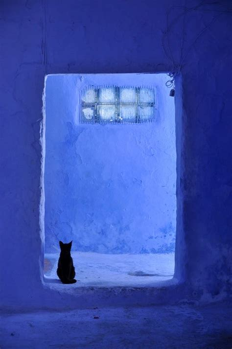 mademoisielle chefchaouen i guess that s why they call it the blues morocco