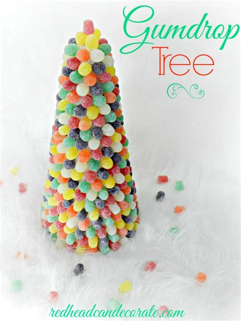 holiday living christmas gumdrop tree gumball machine can decorate