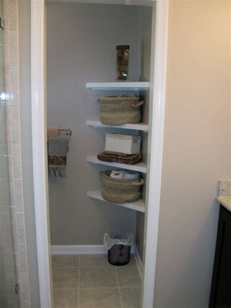Shelving For Small Bathrooms Corner Shelves For A Small Bathroom Laynes Bathroom And Make The Shower Bigger My House My