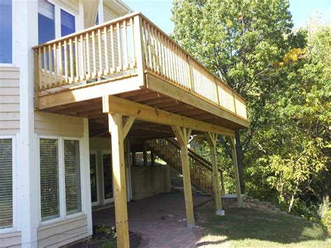 second story deck plans pictures beginer easy landscaping ideas for under second story deck