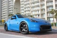 nissan 370z custom blue 2009 nissan monterey blue 370z for sale fort walton
