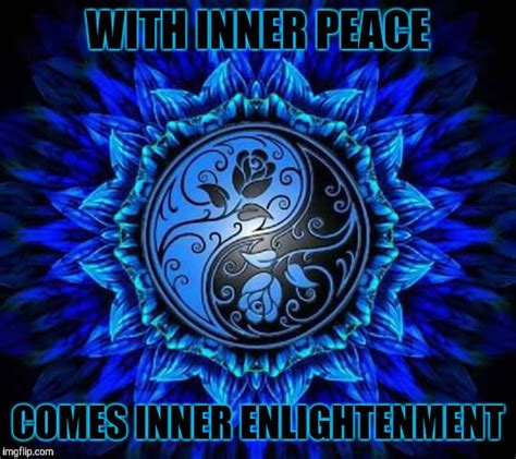 Inner Peace Meme - peace imgflip