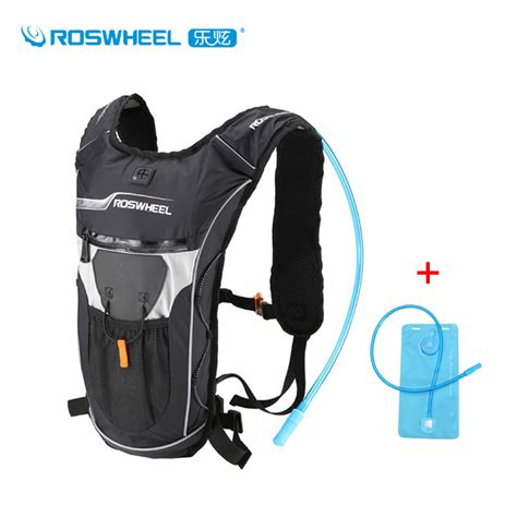 roswheel 2l straw water bag backpack and