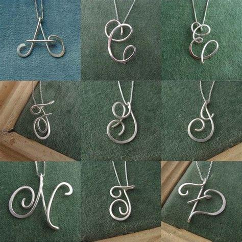 wire alphabet letters artycrafty myown jewelry