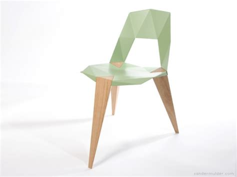 Origami Chair - beautiful shape origami chairs