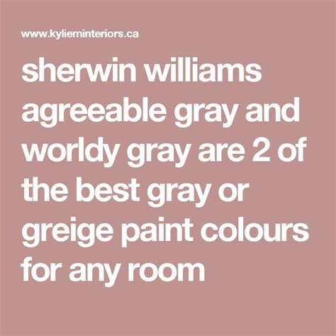 1000 ideas about sherwin williams agreeable gray on
