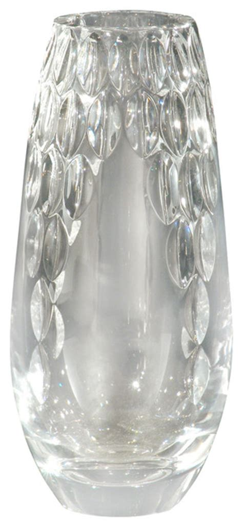 Clear Decorative Vases Dale Ga80033 Clear Marble Decor Vases