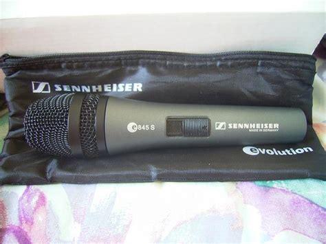 Mic Kabel Sennheiser E 845 E845 E 845 Original photo sennheiser e 845 sennheiser e 845 62027 249847 audiofanzine