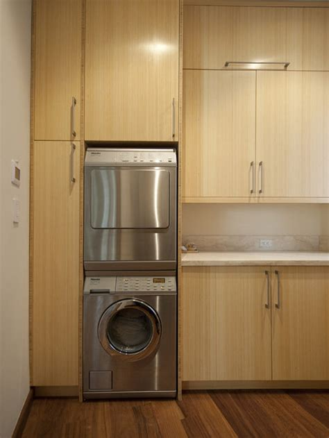 miele stackable washer dryer houzz