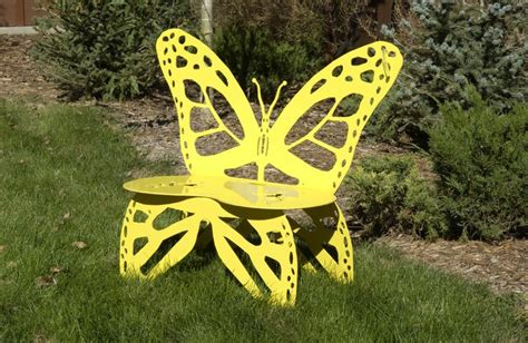 metal butterfly bench metal butterfly garden bench you can make your own