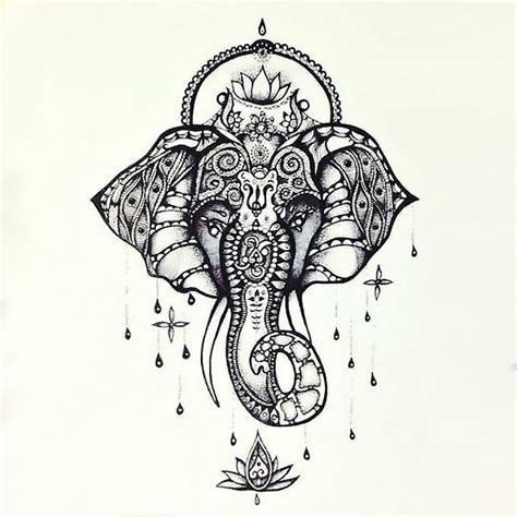 Home Design Ideas Buddhist by Beautiful Buddhist Elephant Tattoo Design