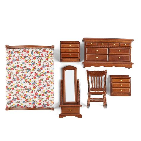 dollhouse bedroom set dollhouse miniature bedroom set new items