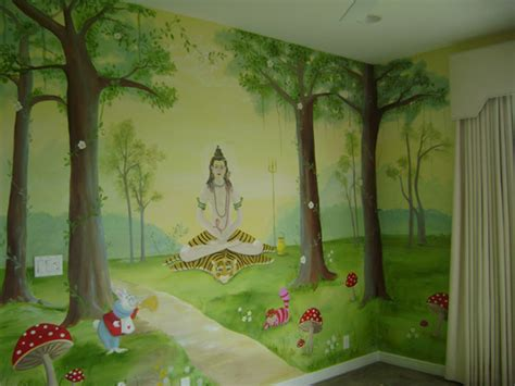 Enchanted Forest Nursery Decor Enchanted Forest Children S Mural Children S Murals In Palm County Florida Mural