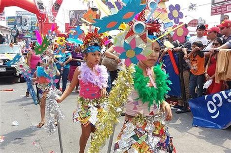 traje de fantasia con material reciclado mazatenango vive el carnaval