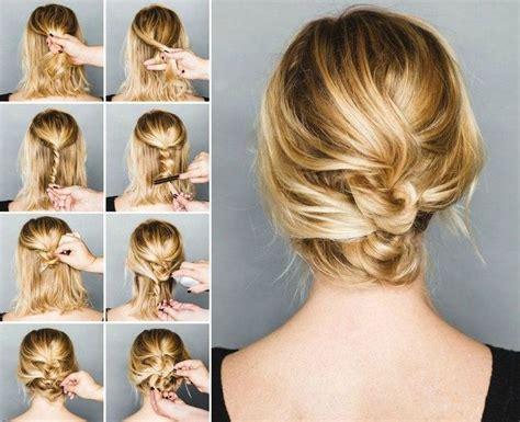Hochzeitsfrisur Schulterlange Haare by 78 Ideen Zu Hochsteckfrisuren Mittellanges Haar Auf