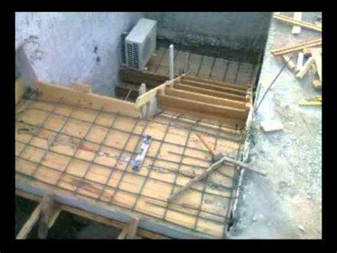 como hacer una escalera de canas como hacer escalera de hormigon