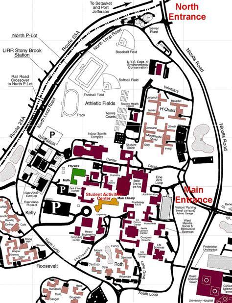 stony brook map area maps