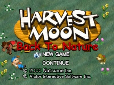Berapa Sho Natur harvest moon back to nature page 40