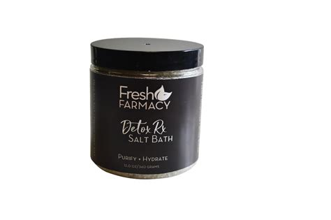 Mineral Bath Salts Detox by Detox Rx Mineral Salt Bath