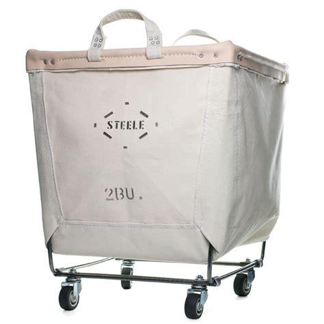Canvas Laundry Cart Natural Laundry Cart